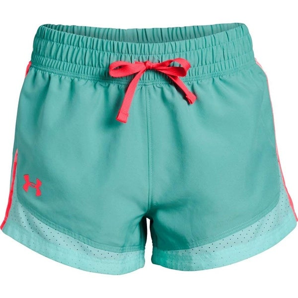 Under Armour Size 6 Penta Pink Shorts Girls NEW