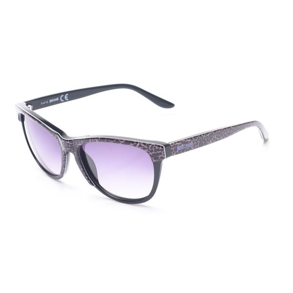 Just Cavalli Women's Cheetah Print Classic Style Sunglasses Cheetah/Black - Clear - Small