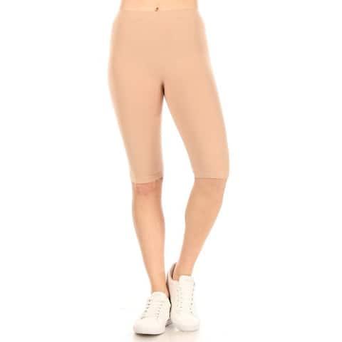 Women's Lightweight Solid Casual Running Yoga Workout Leggings