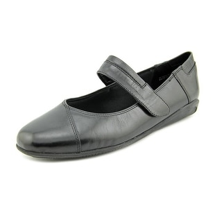 Walking Cradles Flair Round Toe Leather Mary Janes
