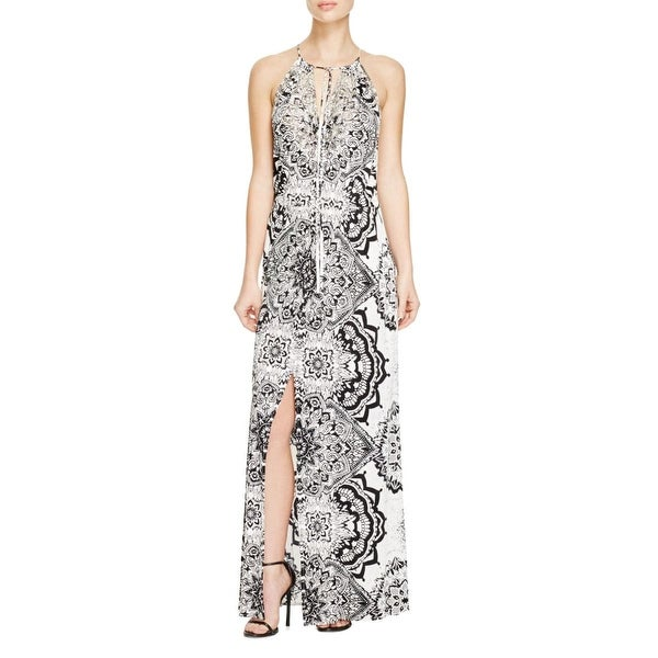 dbed7dbf3ed5 Shop Parker Womens Madera Maxi Dress Beaded Printed - m - Free Shipping  Today - Overstock - 15632034