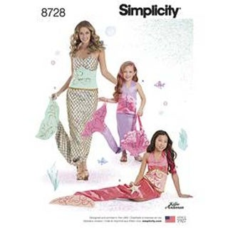 All Sizes - Pattern 8728 Costumes