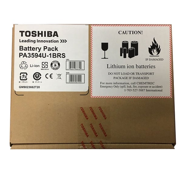 NEW - NEW Toshiba Primary Lithium Ion Battery Pack, 6 cell, 52Wh