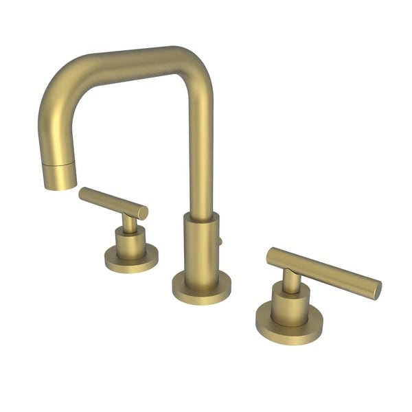 Shop Newport Brass 1400l East Square Double Handle Widespread