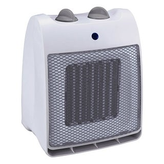 Pelonis NT20-12D Ceramic Heater-Fan, 1000/1500 W, White