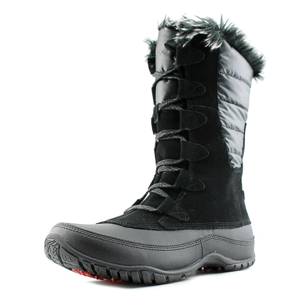 174c4ee22 Shop The North Face Nuptse Purna Round Toe Suede Snow Boot - Free ...