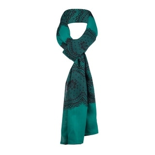 Style & Co. Women's Lace-Print Sheer Wrap Scarf