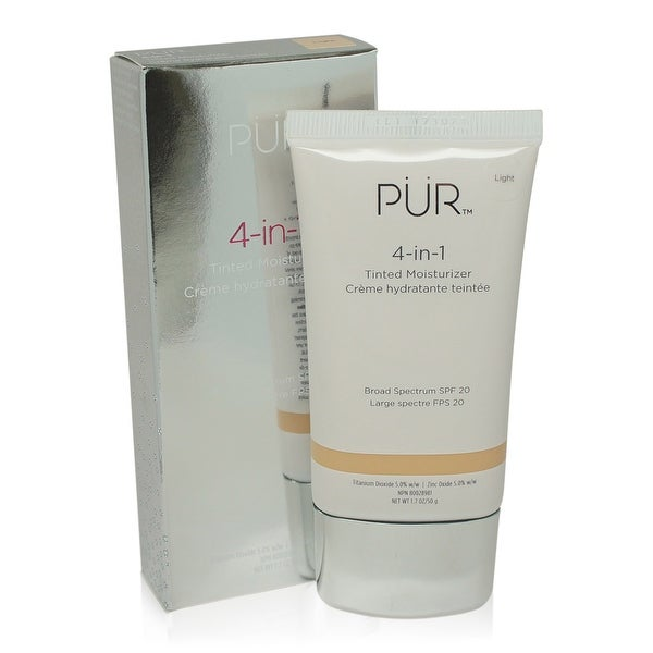 PUR Minerals 4 in 1 Tinted Moisturizer, Light- 1.7