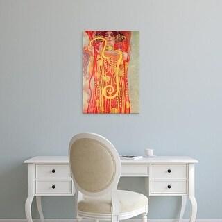 Easy Art Prints Gustav Klimt's 'Medicine' Premium Canvas Art