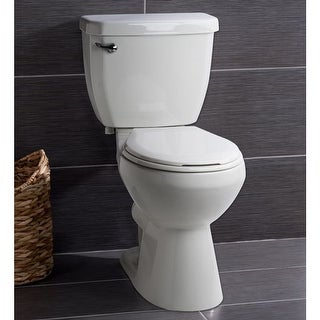 Miseno MNO1500C Two-Piece High Efficiency Toilet with Round-Front Chair Height B