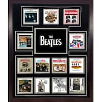 The Beatles US Album Discography Collage