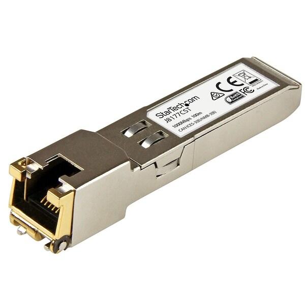 Startech J8177cst Gigabit Rj45 Copper Sfp Transceiver Module