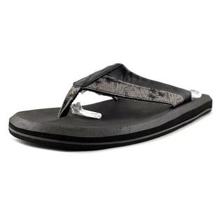 Sanuk Slacker 2 Men  Open Toe Synthetic Gray Flip Flop Sandal