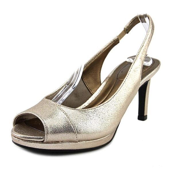Life Stride Invest Women Open Toe Synthetic Ivory Sandals