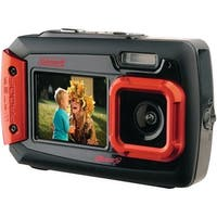 Coleman 2V9Wp-R 20.0-Megapixel Duo2 Dual-Screen Waterproof Digital Camera (Red)