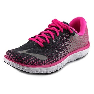 Brooks Pure Flow Round Toe Canvas Running Shoe