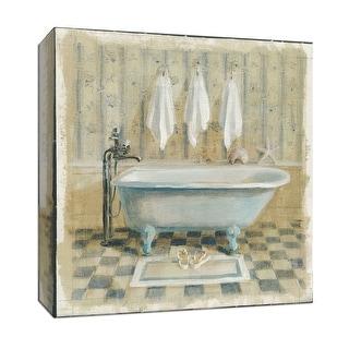 "PTM Images 9-152703  PTM Canvas Collection 12"" x 12"" - ""Victorian Bath IV"" Giclee Bathroom Art Print on Canvas"