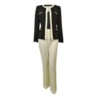 Tahari Women's Dubai Dream Pearl Chain Crepe Pant Suit|https://ak1.ostkcdn.com/images/products/is/images/direct/0420dec3b8778dce211bf1c28249be219fe5888f/Tahari-Women%27s-Dubai-Dream-Pearl-Chain-Crepe-Pant-Suit.jpg?_ostk_perf_=percv&impolicy=medium