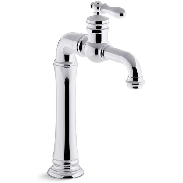 kohler k 72763 9m artifacts gentlemans single handle bathroom sink - Single Handle Bathroom Faucet
