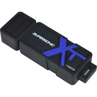 Patriot Memory PEF128GSBUSB Patriot Memory 128GB Supersonic Boost XT USB 3.0 Flash Drive - 128 GBUSB 3.0 - Rugged Design, Shock