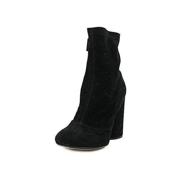 Marc Jacobs Womens Grace Sock Boot Ankle Block Heel - 36 medium (b,m)