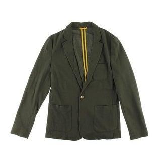 Zara Mens Textured Notch Collar Sportcoat - XL