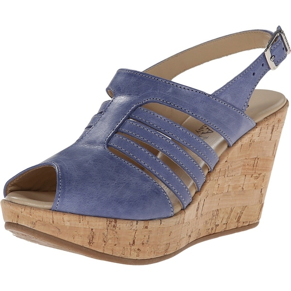 Cordani NEW Blue Shoes Size 7M Platforms & Wedges Strappy Heels