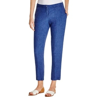 4Our Dreamers Womens Casual Pants Linen Woven