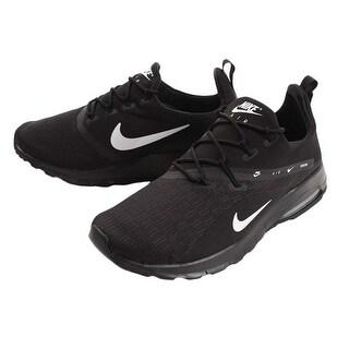 Nike Men's Air Max Motion Racer 2 Sneakers, Black (11.5)