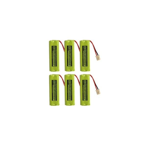 Replacement VTech BT183482 NiMH Cordless Phone Battery - 500mAh / 2.4v (6 Pack)