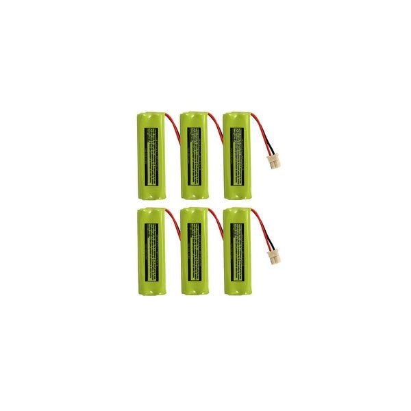 Replacement For VTech BT283482 Cordless Phone Battery (500mAh, 2.4v, NiMH) - 6 Pack