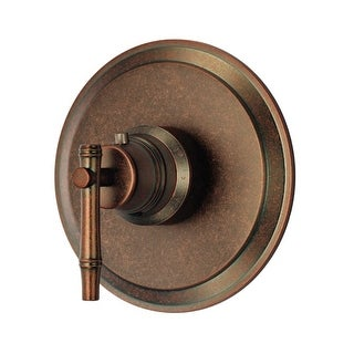 Danze D562045T Thermostatic Valve Trim with Lever Handle From the South Sea Collection (Less Valve)