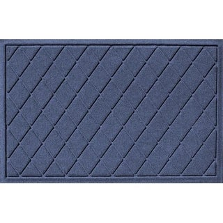 20377610023 Water Guard Argyle Mat in Navy - 2 ft. x 3 ft.