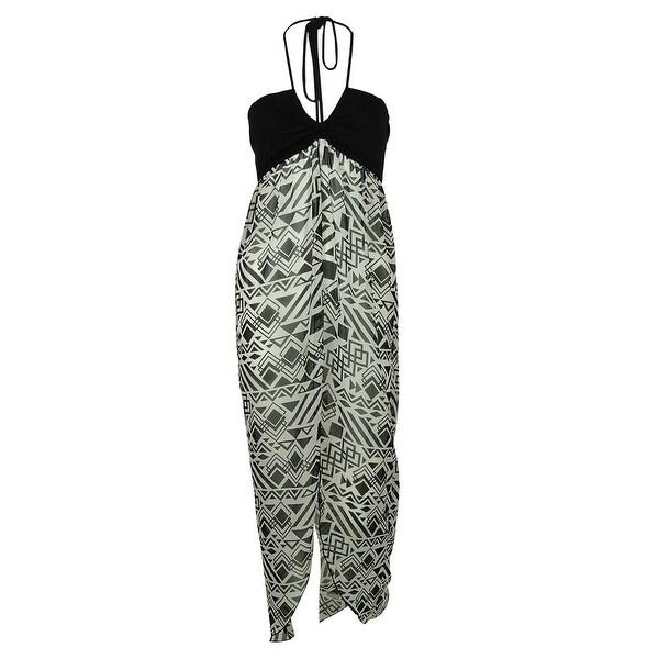 d792edb2dc Shop Miken Women s Flyaway Maxi Dress Swin Cover ups - Black - Free  Shipping On Orders Over  45 - Overstock.com - 14681173