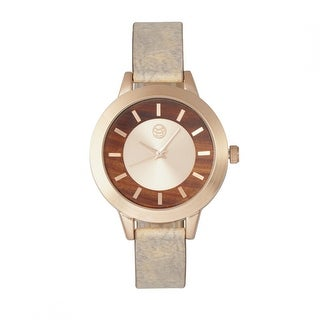Earth Wood Autumn Women's Quartz Watch