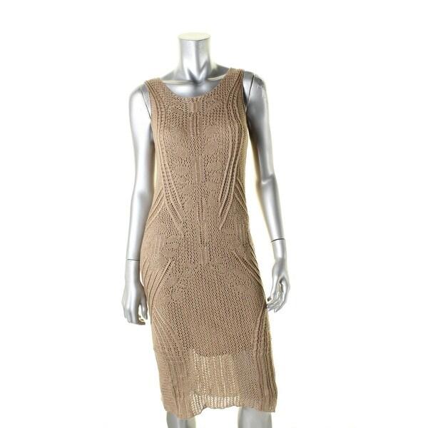 dd754fb6f76 Shop Lauren Ralph Lauren Womens Sweaterdress Open Stitch Sheath - m - Free  Shipping Today - Overstock - 19559064