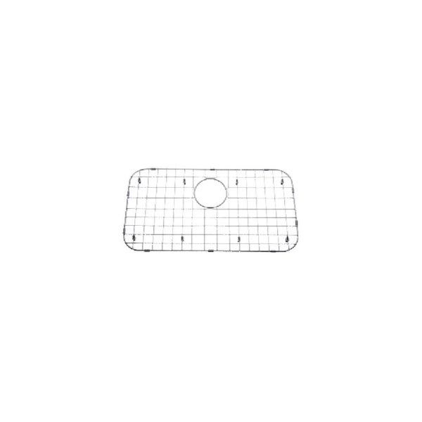 """Mirabelle MIRG2513 25-4/5"""" X 13-4/5"""" Stainless Steel Basin Rack with Protective Bumpers and Feet - STAINLESS STEEL - N/A"""