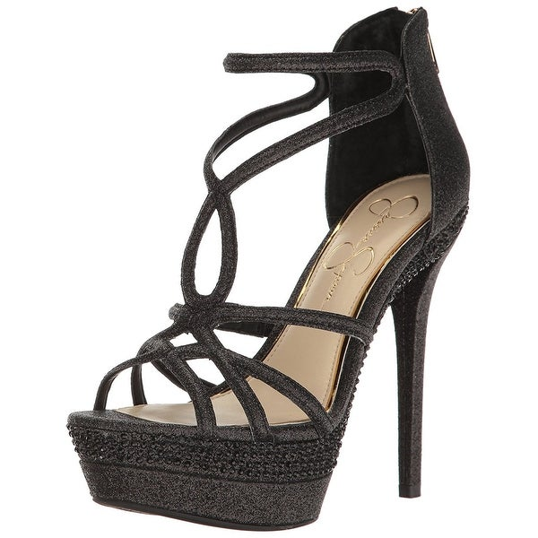 Jessica Simpson Womens Rozmari Open Toe Casual Strappy Sandals
