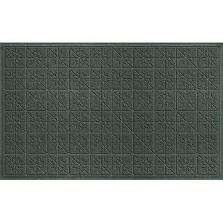 843590024 Water Guard Star Quilt Mat in Evergreen - 2 ft. x 4 ft. ft.
