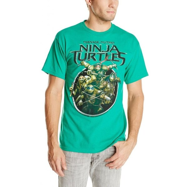 6958ef0d Shop Teenage Mutant Ninja Turtles Men's Ninja Turtles 2014 Movie-2 - Free  Shipping On Orders Over $45 - Overstock - 20669366
