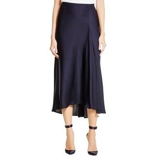 Theory Womens Maity TS Maxi Skirt Silk Lined