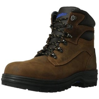 Blundstone Mens Leather Steel Toe Work Boots