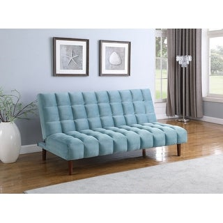 Harrington Biscuit Tufted Upholstered Sofa Bed