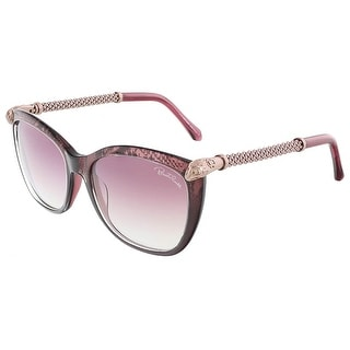 Roberto Cavalli RC978S/S 83Y TALITHA Violet Rose Gold Square sunglasses