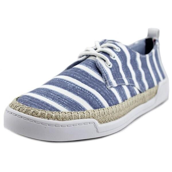 fc5aeab5d9878 Shop Tommy Hilfiger Karlee 2 Women Canvas Blue Fashion Sneakers ...