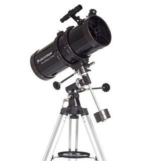 Celestron 21049 PowerSeeker 127EQ Telescope With 5x24 Finderscope and 3x Barlow Lens