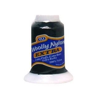 YLI Thread Woolly Nylon Extra 300M Black