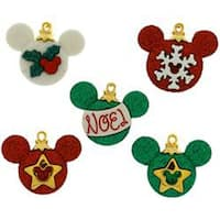 Dress It Up Licensed Embellishments-Disney Mickey Ornaments