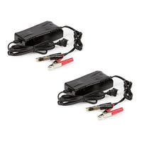 Replacement SLA Battery Charger 12V-4Ah (2-Pack) Replacement AGM SLA Battery Charger