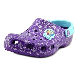 Crocs Classic Frozen Round Toe Synthetic Clogs